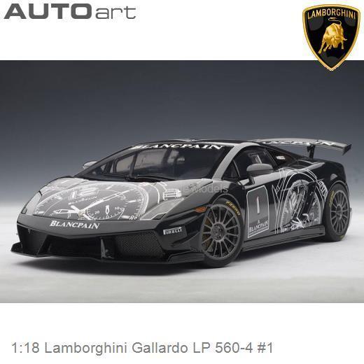 1 18 Autoart 74686 Lamborghini Gallardo Lp 560 4 1