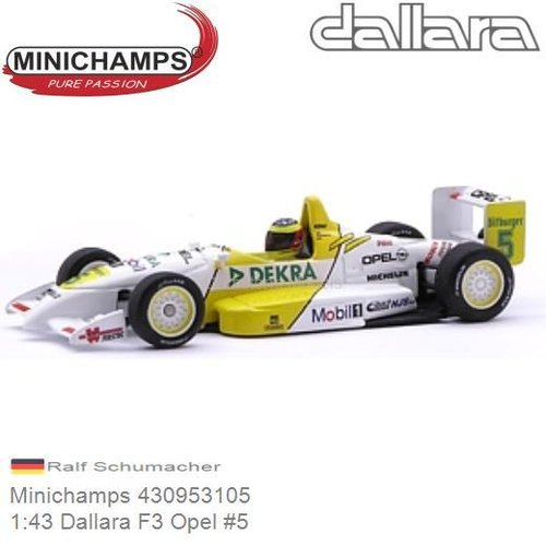 DALLARA OPEL #2 R.SCHUMACHER 1999 MINICHAMPS F3