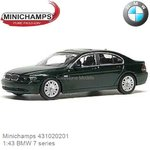 Modelauto 1:43 BMW 7 series (Minichamps 431020201)