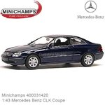 Modelcar 1:43 Mercedes Benz CLK Coupe (Minichamps 400031420)