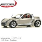 Modellauto 1:43 Smart Roadster (Minichamps 14178V001C)