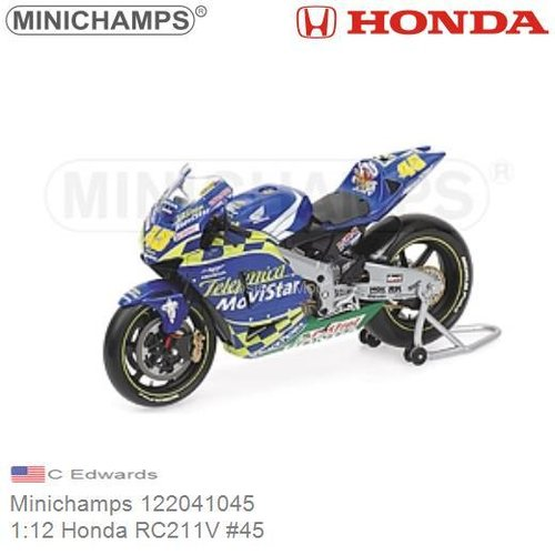 1:12 Honda RC211V #45 | C Edwards (Minichamps 122041045)