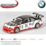 Modelcar 1:43 BMW M3 GTR #21 | Boris Said (Minichamps 400042121)