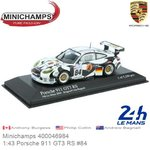 Modelcar 1:43 Porsche 911 GT3 RS #84 | Anthony Burgess (Minichamps 400046984)