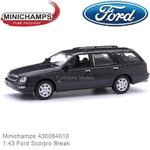 Modelauto 1:43 Ford Scorpio Break (Minichamps 430084010)