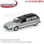 1:43 Citroën CX Break Leichen wagen (Minichamps 400111495)