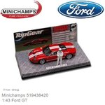 Modelauto 1:43 Ford GT | The Stig (Minichamps 519438420)
