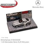 Modelauto 1:43 Mercedes Benz SLR McLaren | The Stig (Minichamps 519433300)