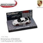 Modellauto 1:43 Porsche 911 GT3 RS | The Stig (Minichamps 519436200)