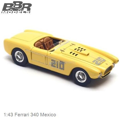1:43 Ferrari 340 Mexico | Preston Gray (PJ157)