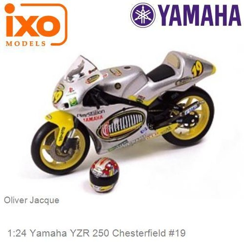 1:24 Yamaha YZR 250 Chesterfield #19 | Oliver Jacque (IXO-Models RAB020)