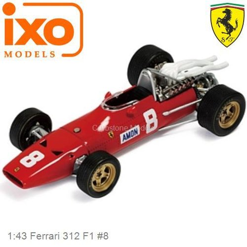 1:43 Ferrari 312 F1 #8 | Chris Amon (SF021)