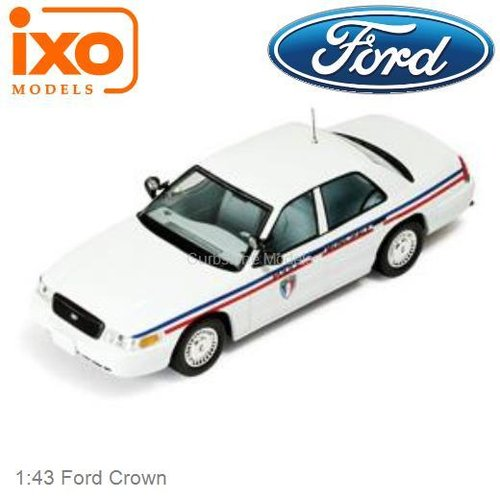 1:43 Ford Crown (IXO-Models MOC067)