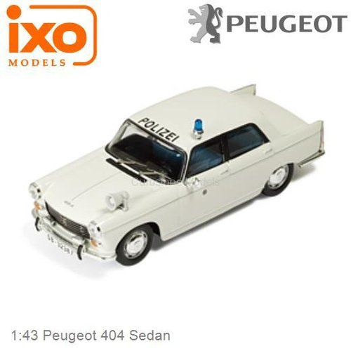1:43 Peugeot 404 Sedan (IXO-Models CLC165)