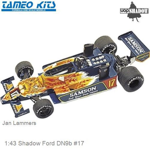 1:43 Shadow Ford DN9b #17 | Jan Lammers (Tameo TMK272)