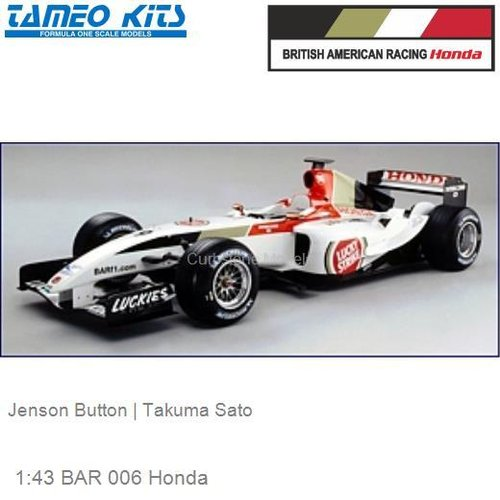 1:43 BAR 006 Honda | Jenson Button (SLK014)