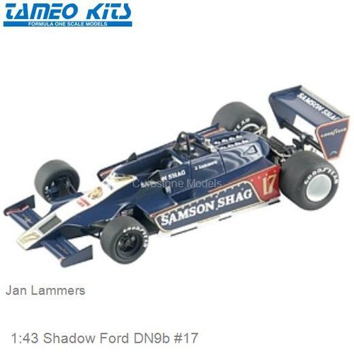 1:43 Shadow Ford DN9b #17 | Jan Lammers (TMK300)