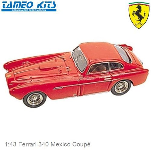 1:43 Ferrari 340 Mexico Coupé (TMK014)
