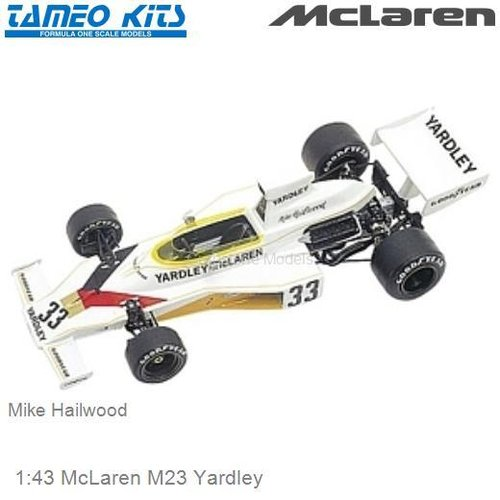 1:43 McLaren M23 Yardley | Mike Hailwood (TMK221)