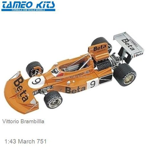 1:43 March 751 | Vittorio Brambillla (TMK233)