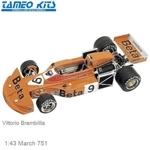 1:43 March 751 | Vittorio Brambillla (TMK235)
