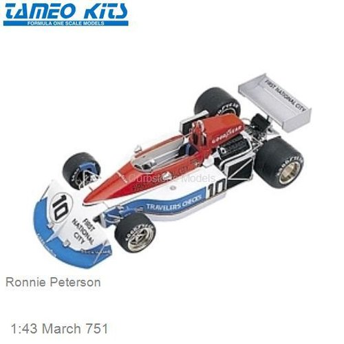 1:43 March 751 | Ronnie Peterson (TMK236)
