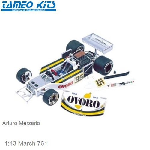 1:43 March 761 | Arturo Merzario (TMK275)