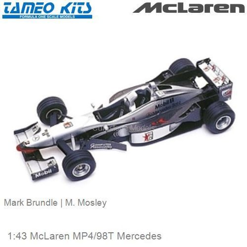 1:43 McLaren MP4/98T Mercedes | Mark Brundle (TMK277)