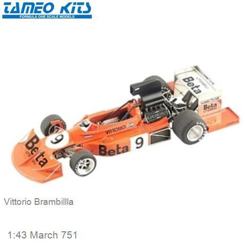 1:43 March 751 | Vittorio Brambillla (TMK313)