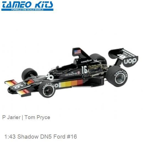 1:43 Shadow DN5 Ford #16 | P Jarier (SLK017)