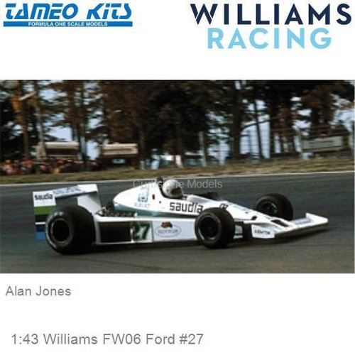 1:43 Williams FW06 Ford #27 | Alan Jones (SLK042)