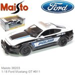 1:18 Ford Mustang GT #911 (Maisto 36203)