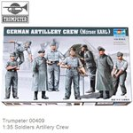 Kit 1:35 Soldiers Artillery Crew (Trumpeter 00409)