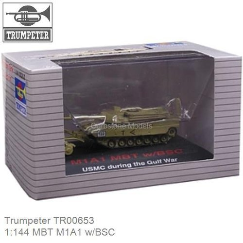 1:144 MBT M1A1 w/BSC (Trumpeter TR00653)