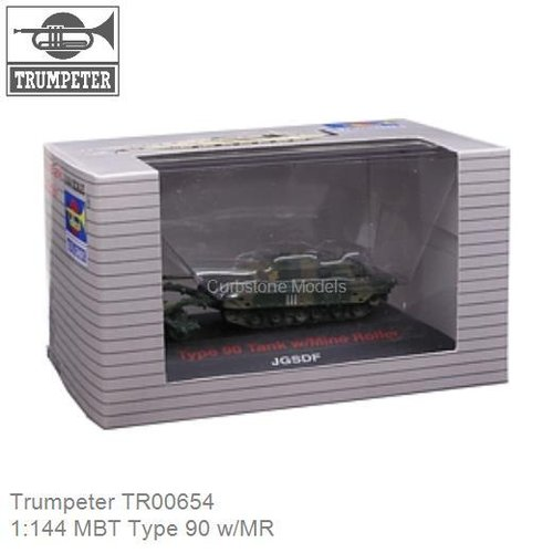 1:144 MBT Type 90 w/MR (Trumpeter TR00654)