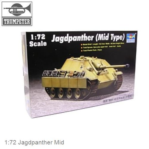 1:72 Jagdpanther Mid