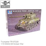 Kit 1:72 M4A3 E8 Korean War (Trumpeter TR 07229)