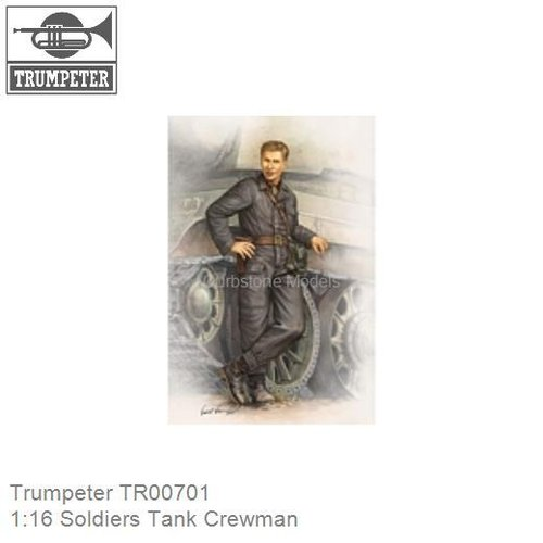 1:16 Soldiers Tank Crewman (Trumpeter TR00701)
