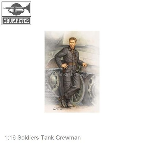 1:16 Soldiers Tank Crewman
