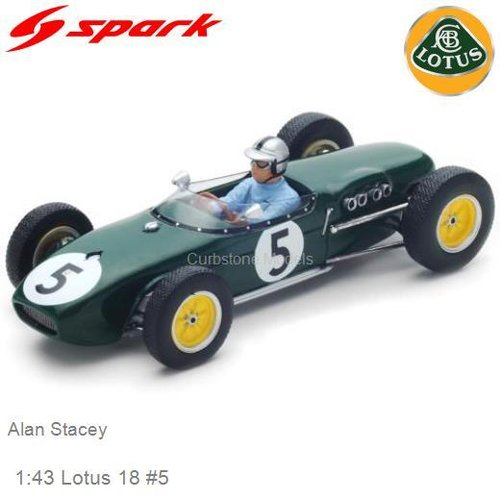 Modelauto 1:43 Lotus 18 #5 | Alan Stacey (Spark S5342)