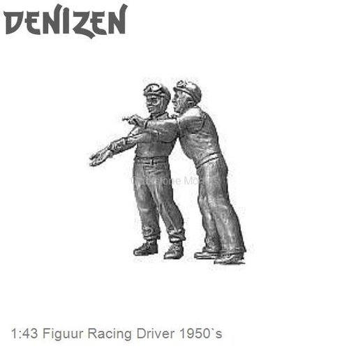 1:43 Figuur Racing Driver 1950`s (RD96)