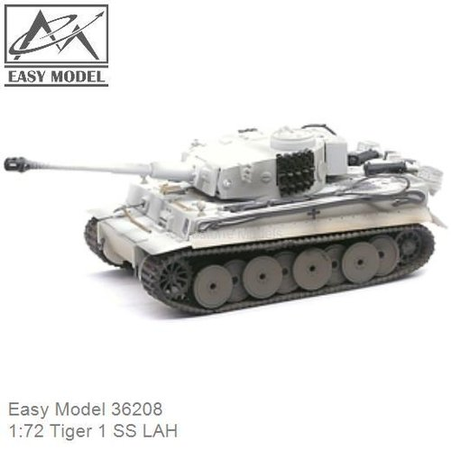 1:72 Tiger 1 SS LAH (Easy Model 36208)