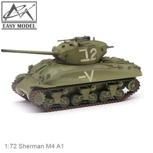 1:72 Sherman M4 A1 (Easy Model 36250)