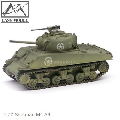 1:72 Sherman M4 A3 (Easy Model 36255)