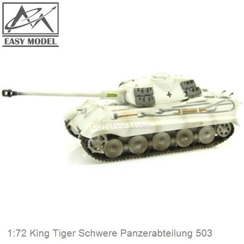 1:72 King Tiger Schwere Panzerabteilung 503 (Easy Model 36299)