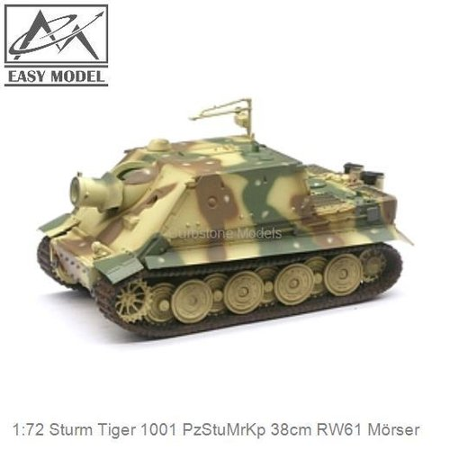 1:72 Sturm Tiger 1001 PzStuMrKp 38cm RW61 Mörser (Easy Model 36101)