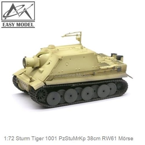 1:72 Sturm Tiger 1001 PzStuMrKp 38cm RW61 Mörse (Easy Model 36100)