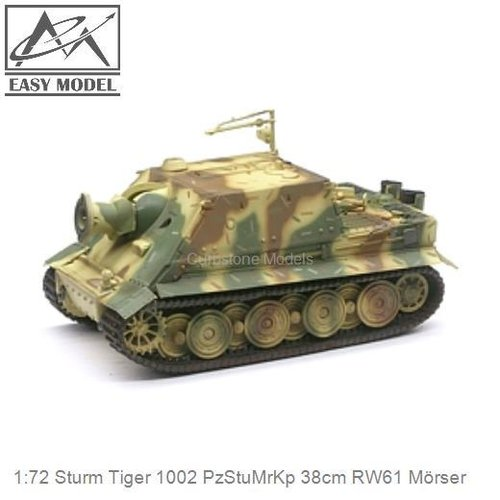 1:72 Sturm Tiger 1002 PzStuMrKp 38cm RW61 Mörser (Easy Model 36102)