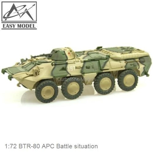 1:72 BTR-80 APC Battle situation (Easy Model 35019)