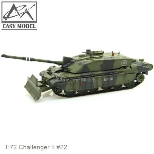 1:72 Challenger II #22 (Easy Model 35011)